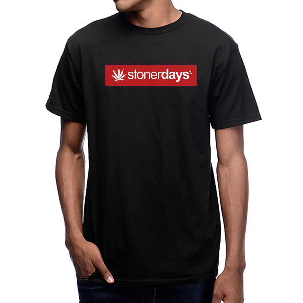 Men's StonerDays Logo Red Tee