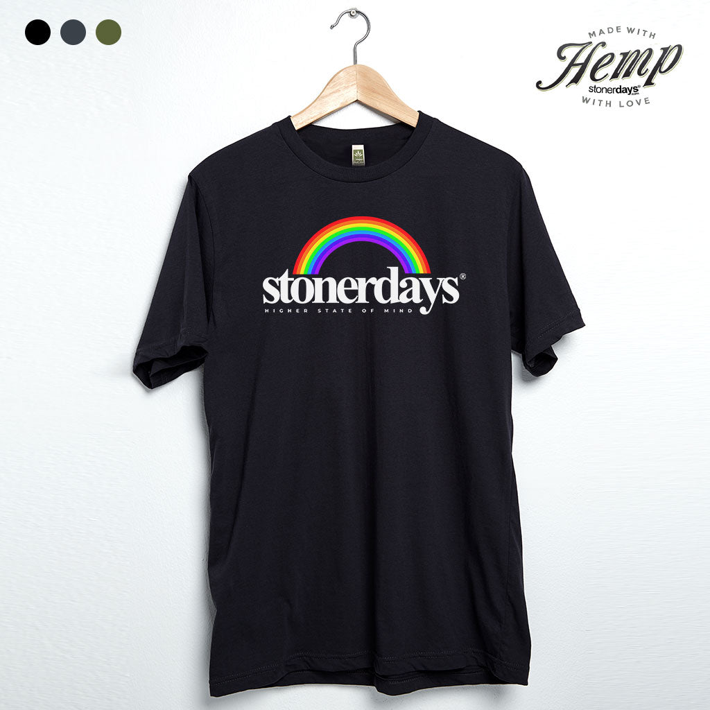 StonerDays Rainbow Hemp Tee
