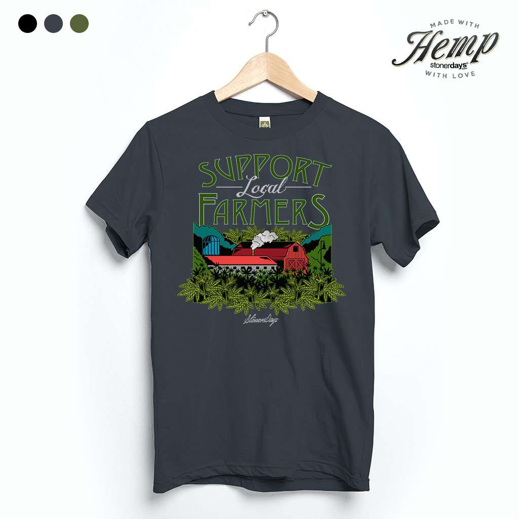 Support Local Farmers Hemp Tee