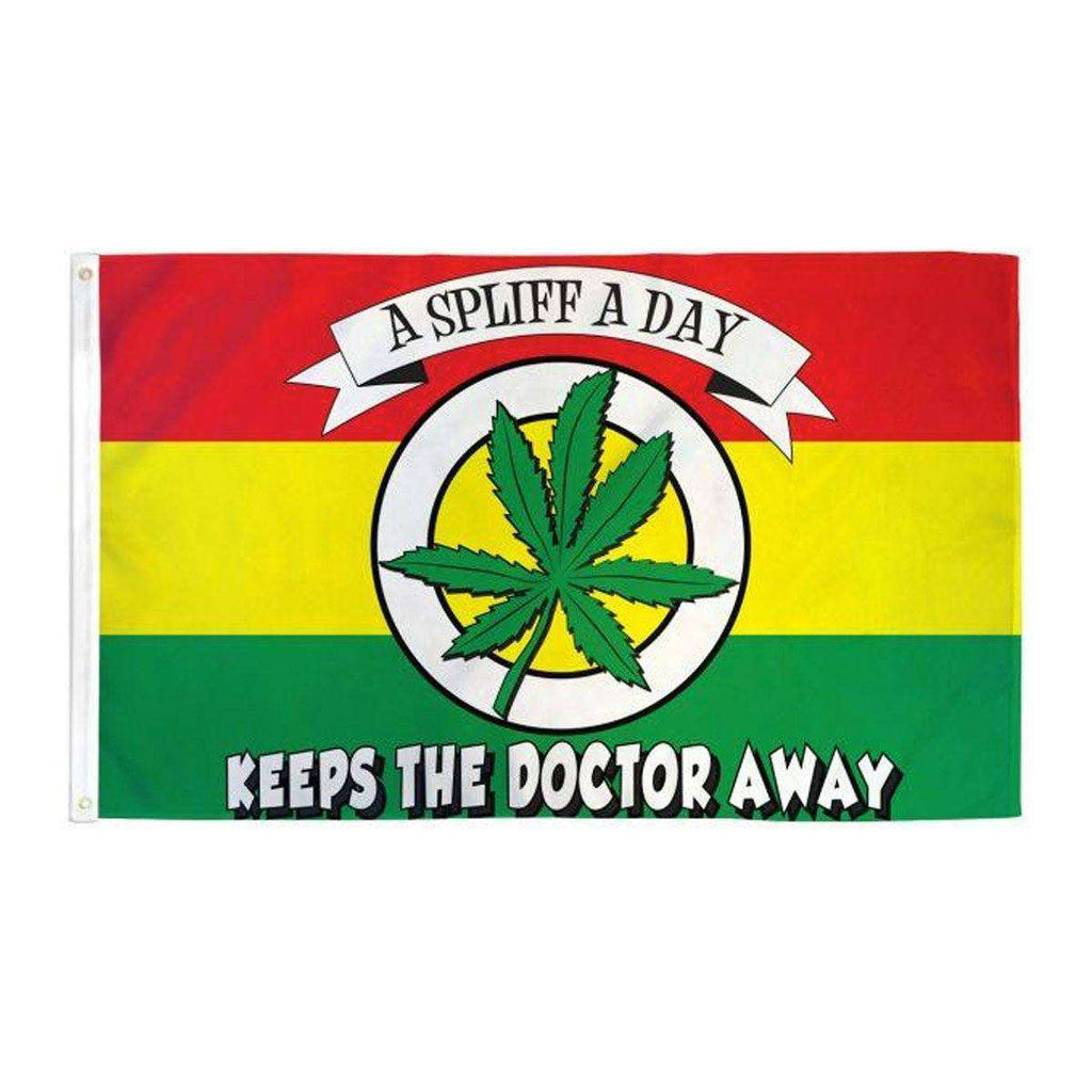 Spliff A Day Flag