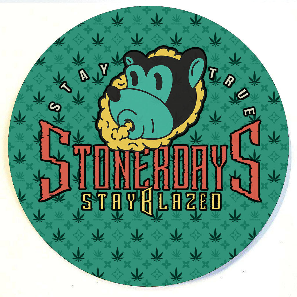 Stay True Bear Dab Mat