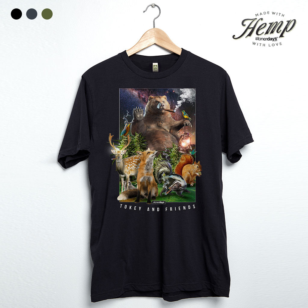 Tokey & Friends Hemp Tee