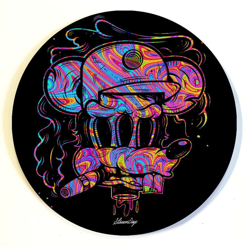 Trippy Mouse Dab Mat