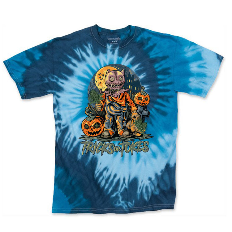 Trick or Tokes Tie Dye