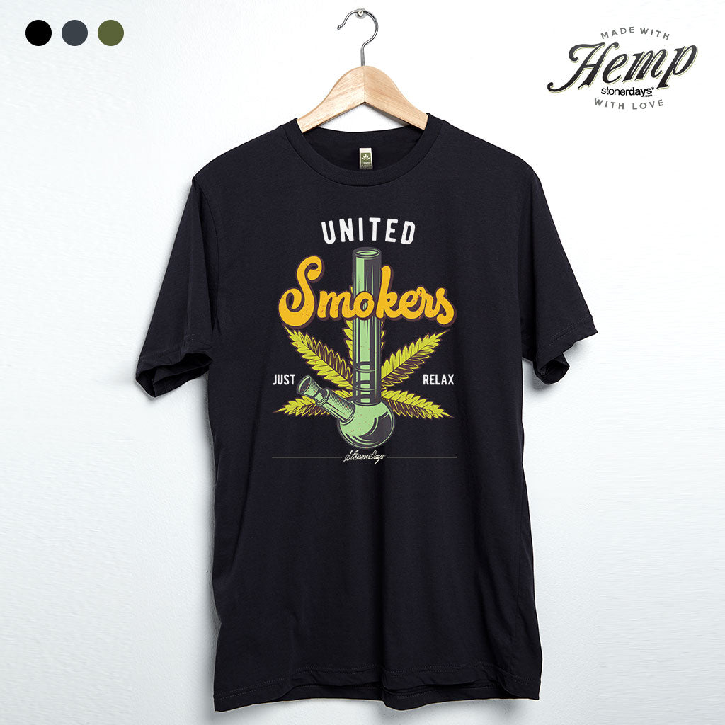 United Smokers Hemp Tee