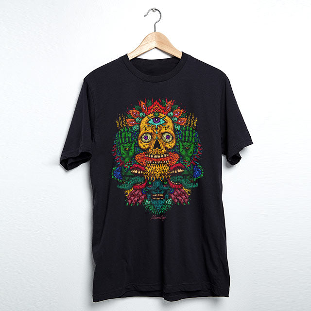 MEN'S VOODOO SKULLS MARY JANE TEE