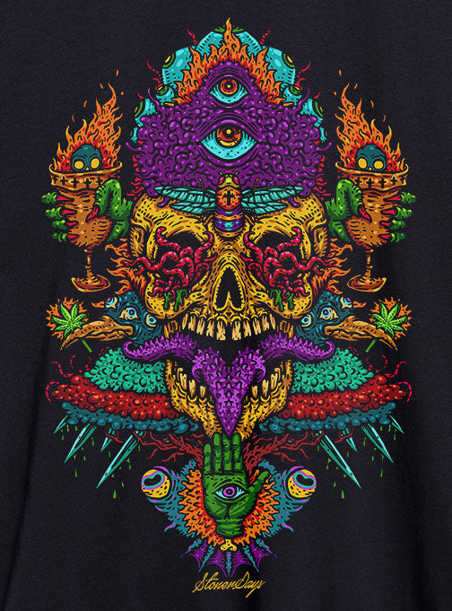 Voodoo Vulcan God of Fire Hemp Tee