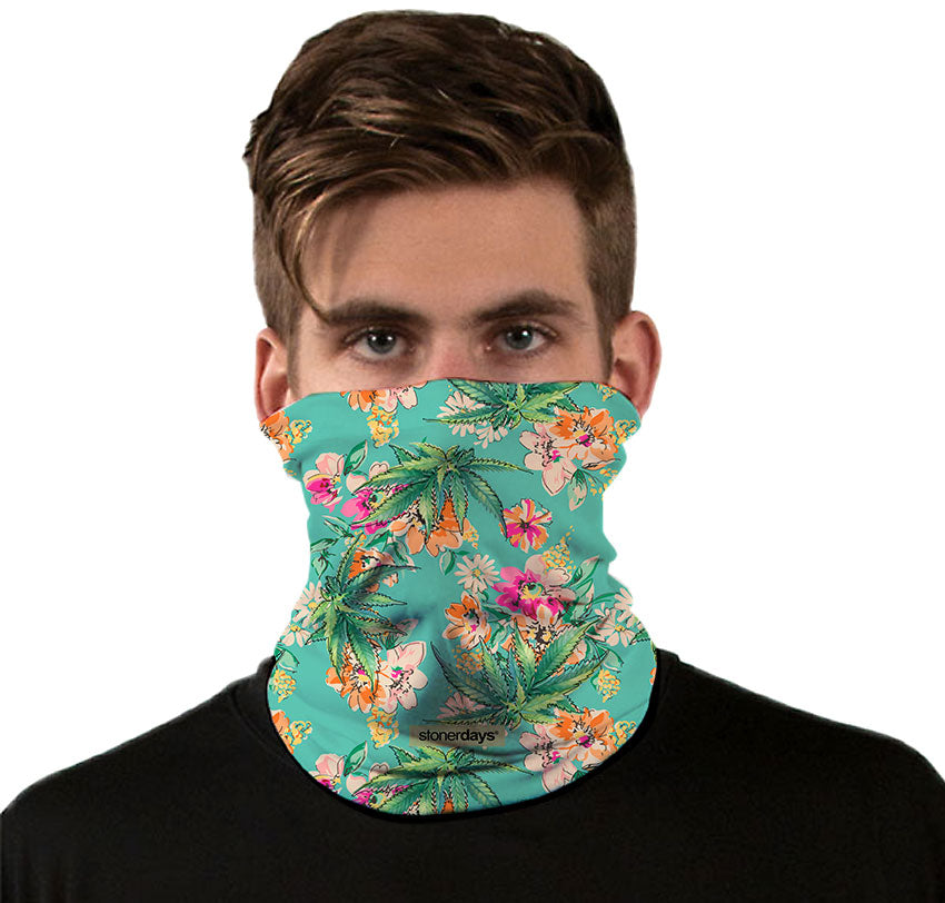 Watercolor Kush Neck Gaiter
