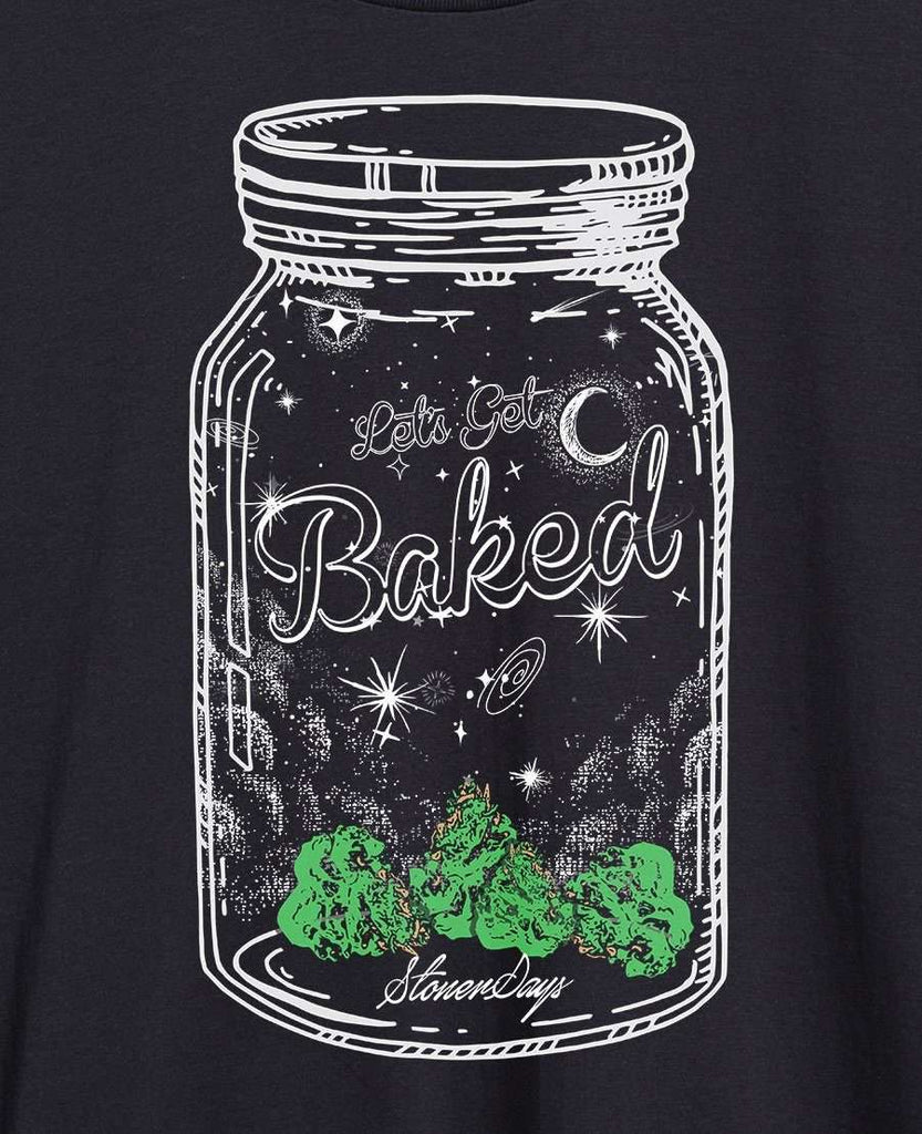 MEN'S BAKED MASON JAR TEE