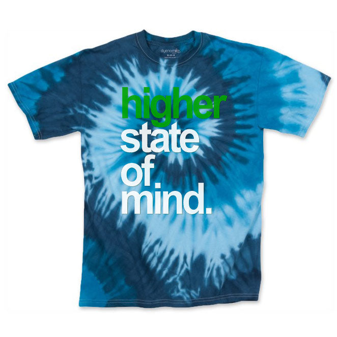 Men's Blue HSOM OG Tie Dye Tee
