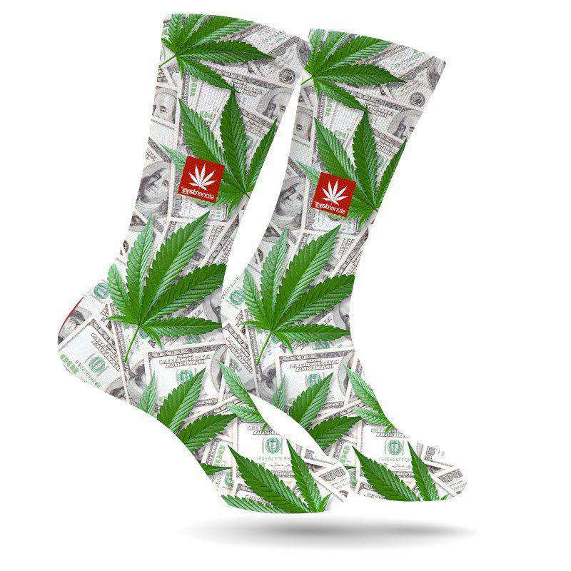 CASH MONEY WEED SOCKS BY STONERDAYS