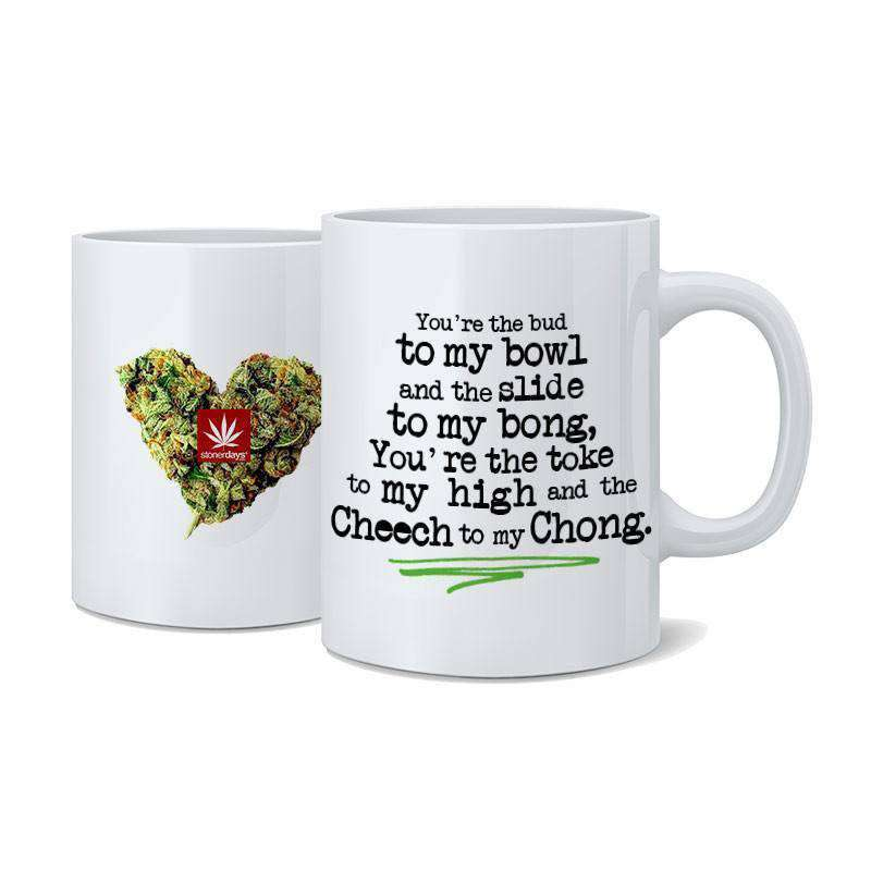 CHEECH TO MY CHONG NUG MUG