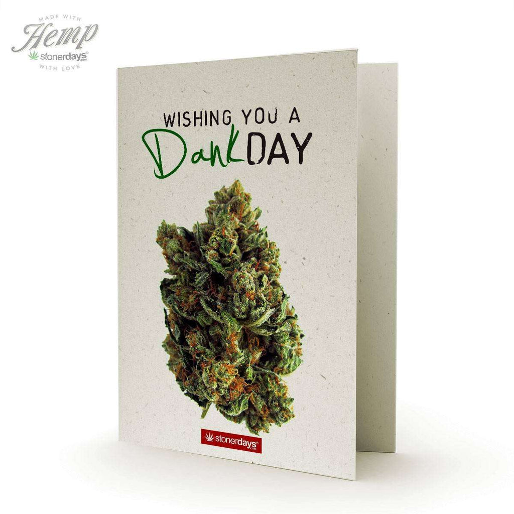 DANK DAY HEMP GREETING CARD