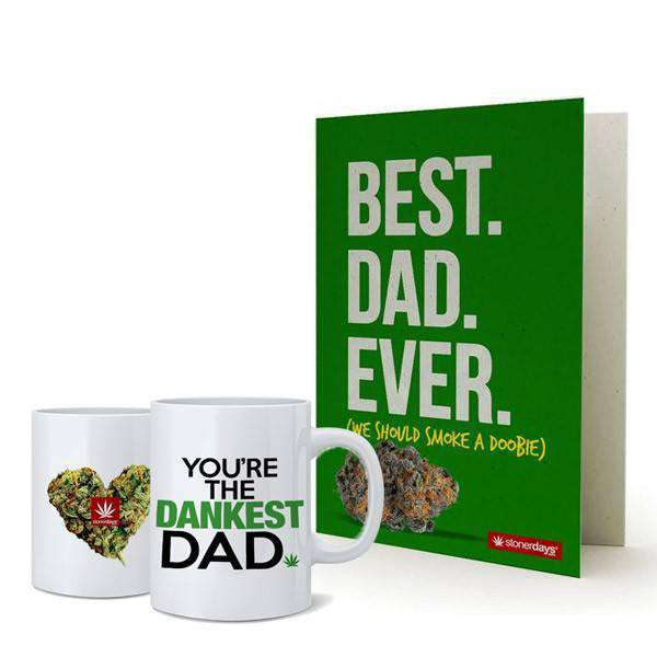DANKEST DAD MUG + CARD COMBO-StonerDays