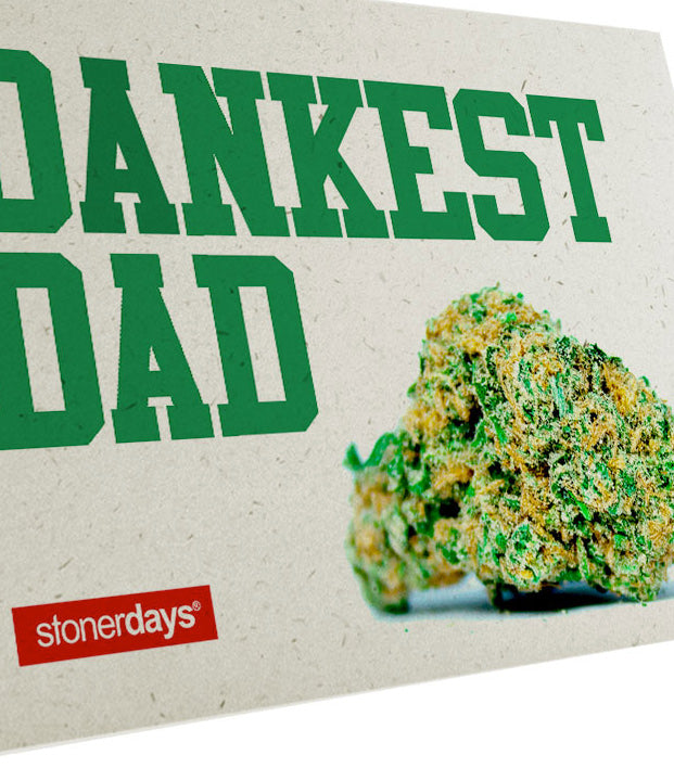 DANKEST DAD HEMP GREETING CARD
