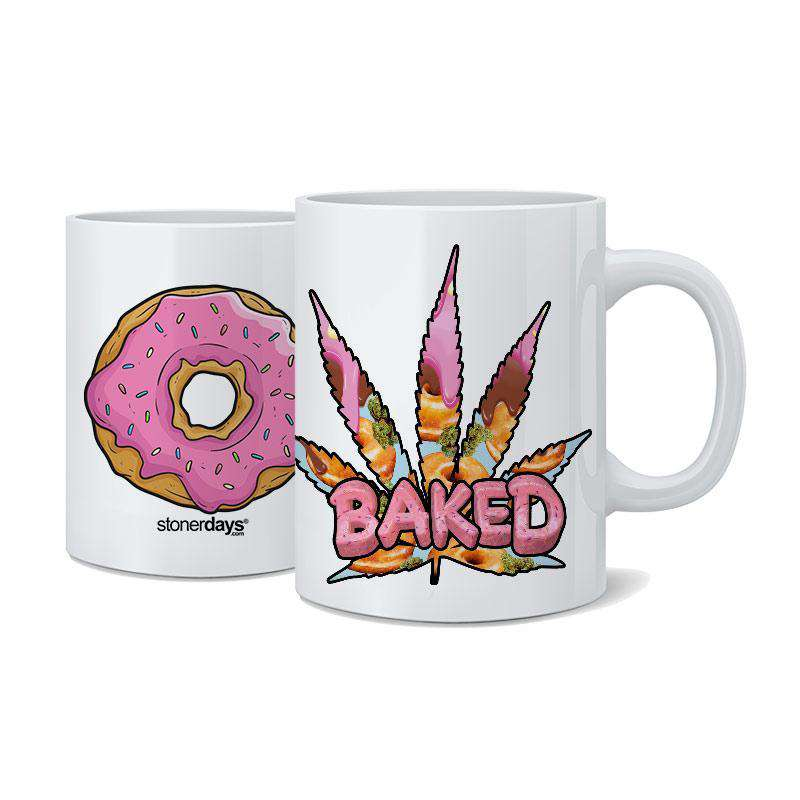 DONUT BAKED COFFEE MUG