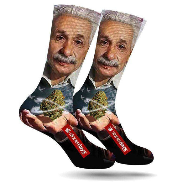 EINSTEIN CREW SOCKS-StonerDays