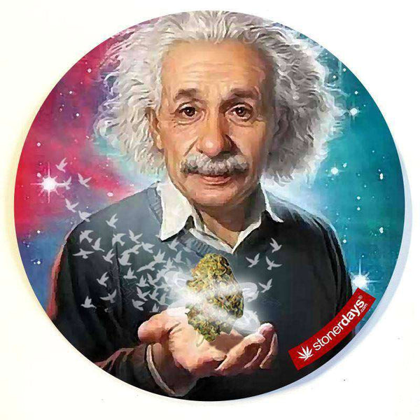 EINSTEIN RELATIVITY DAB MAT-StonerDays