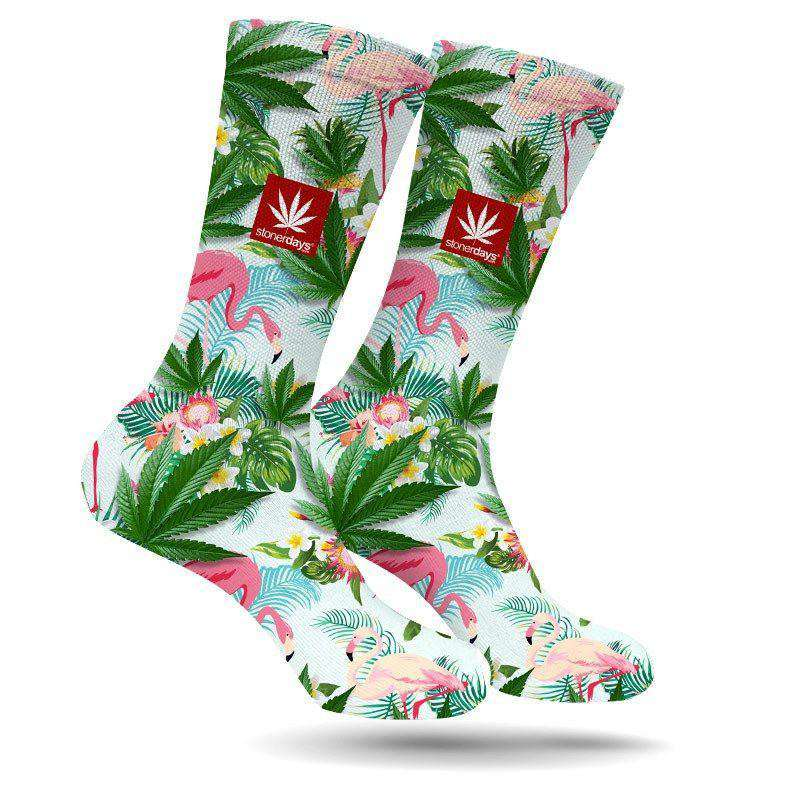 FLAMINGO CREW SOCKS-StonerDays