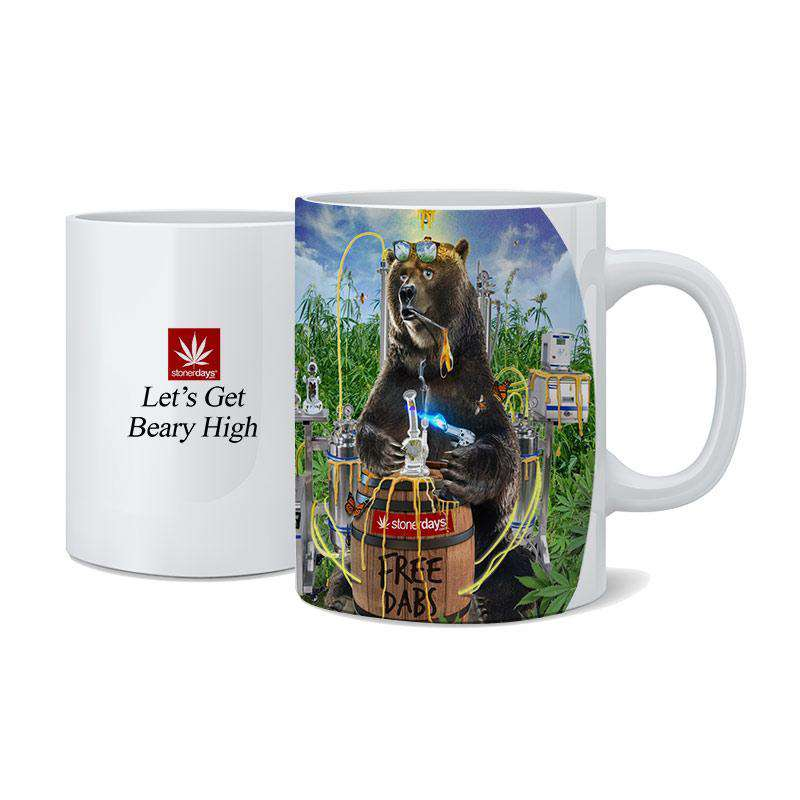 FREE DABS BEAR COFFEE MUG