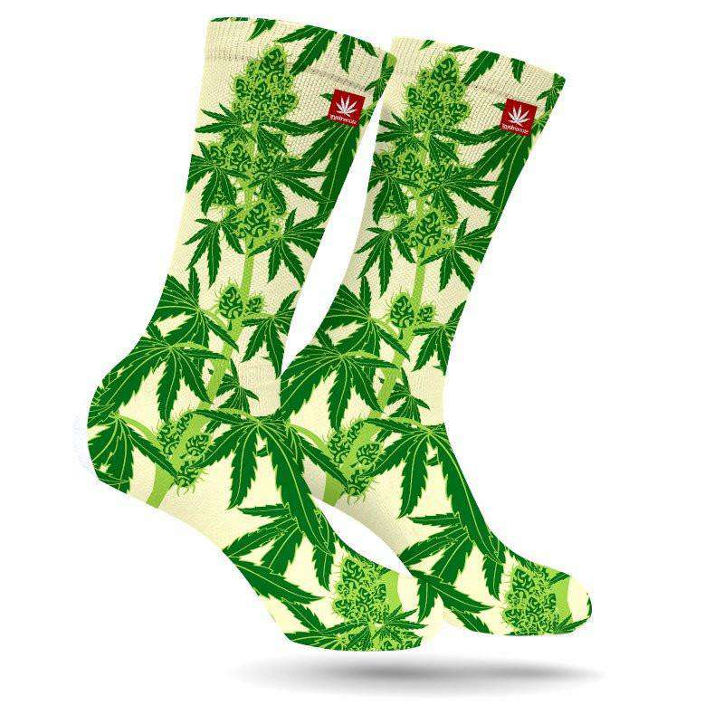 FRUITS OF OUR LABOR WEED MARIJUANA STONER SOCKS