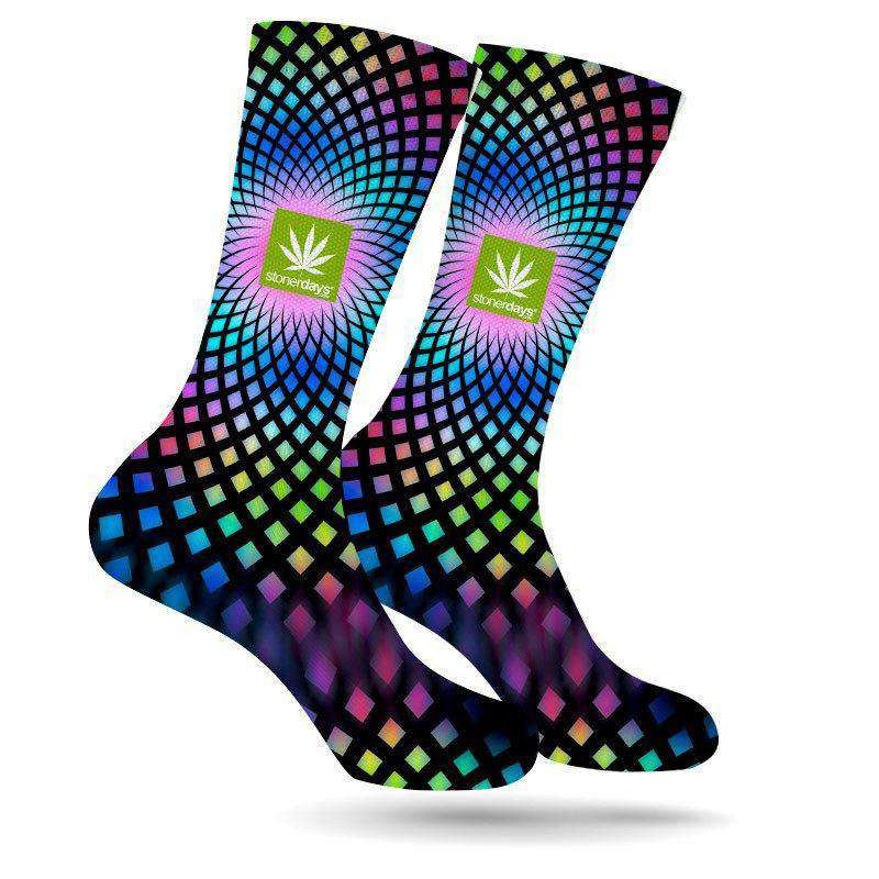 FULL SPECTRUM WEED SOCKS (UV REACTIVE)