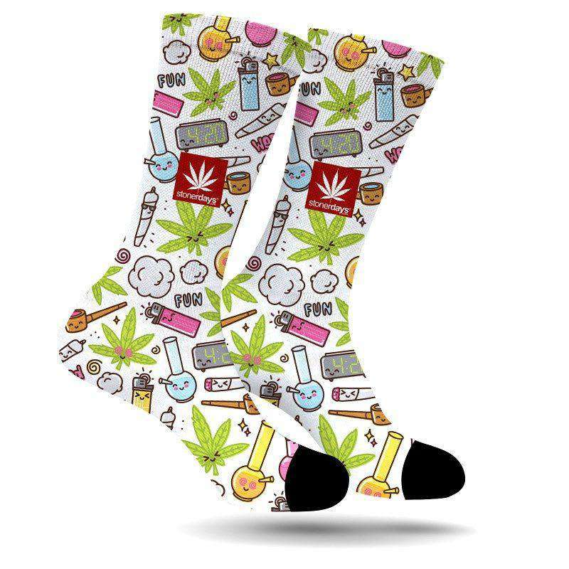 FUN PARTY CREW SOCKS-StonerDays