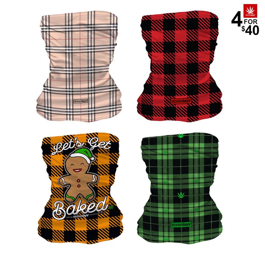 StonerDays 4 For $40 Plaid Pack