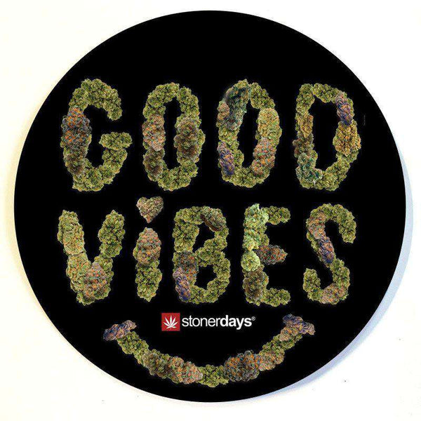 GOOD VIBES DAB MAT-StonerDays