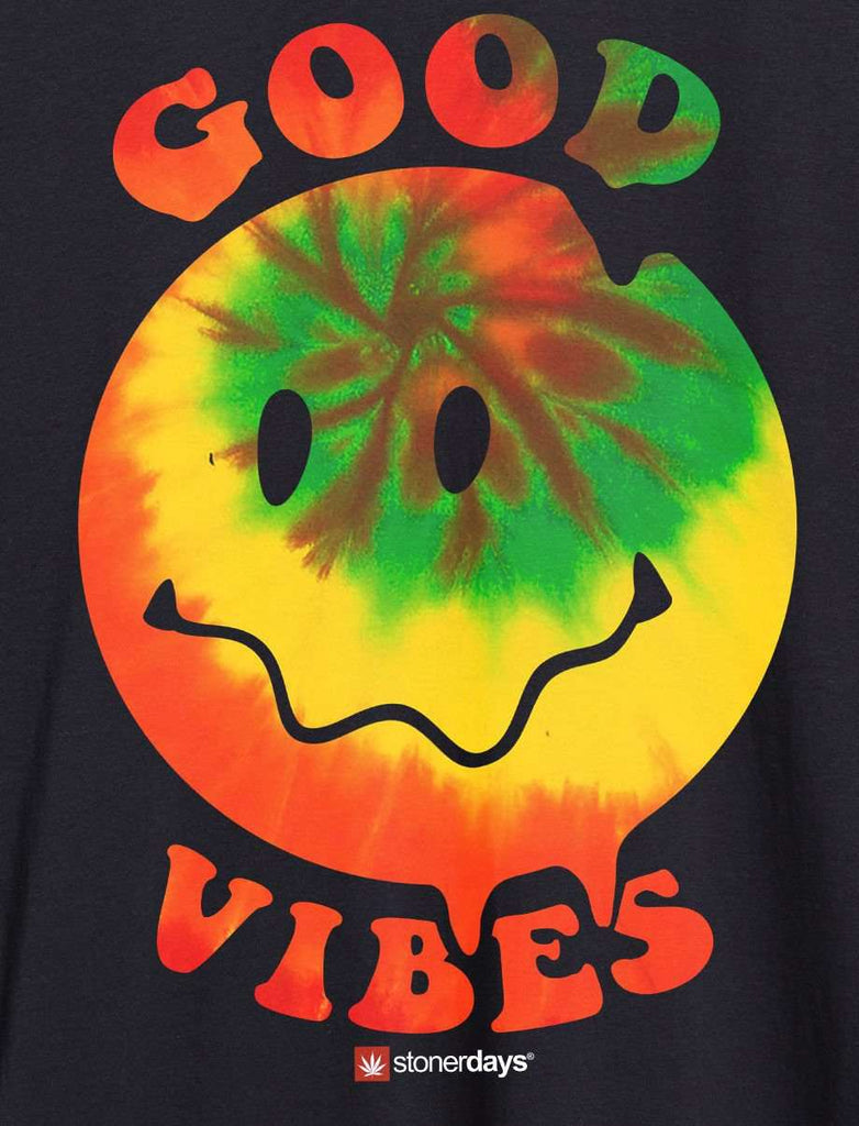 MENS HAPPY FACE GOOD VIBES TANK