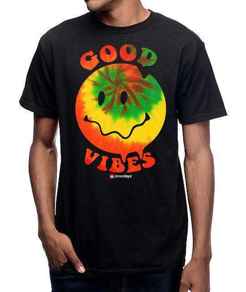 MEN'S HAPPY FACE GOOD VIBES TEE