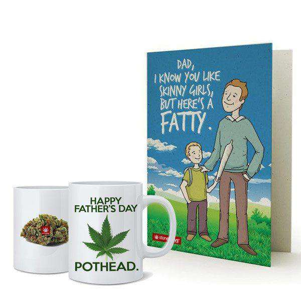 HAPPY FATHER'S DAY MUG + CARD COMBO-StonerDays