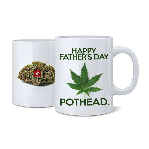 HAPPY FATHERS DAY POTHEAD NUG MUG-StonerDays
