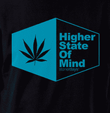 HSOM BLUE LEAF TEE-StonerDays