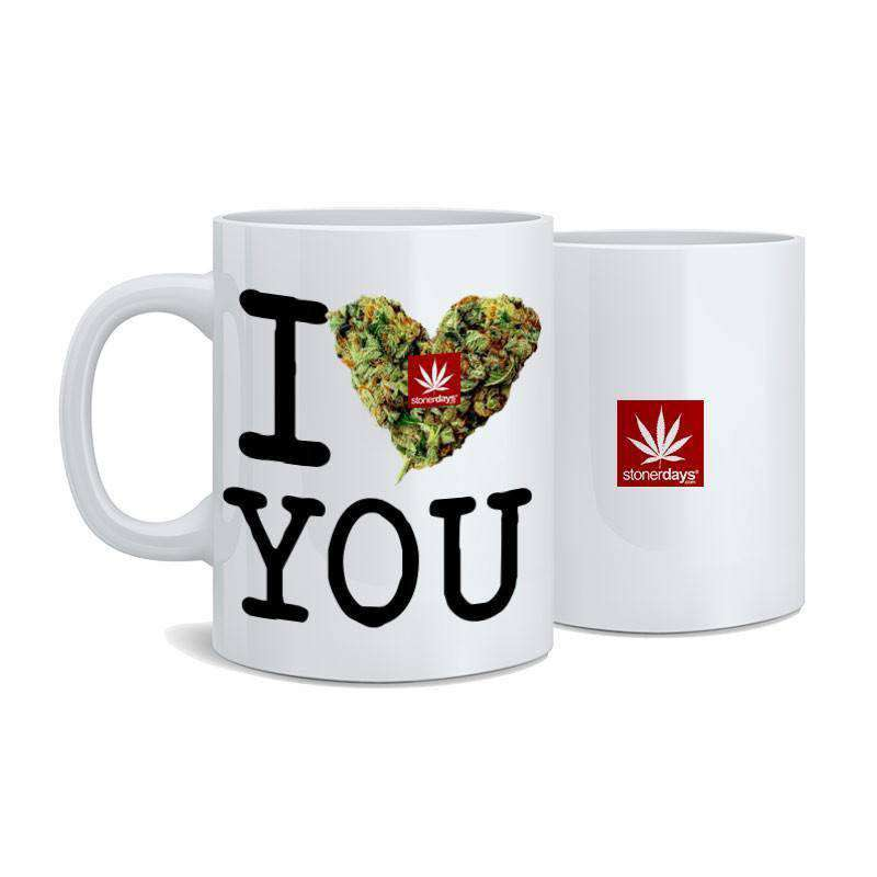 I BUD YOU NUG MUGS SET (2 MUGS FOR $25.00)