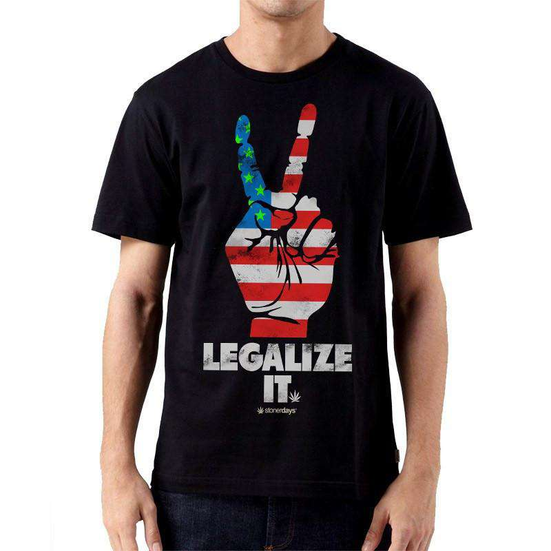 MEN'S LEGALIZE AMERICA TEE
