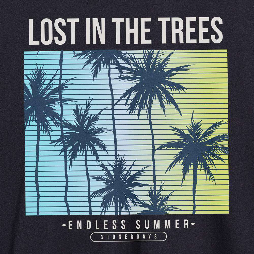 MENS LOST IN THE TREES TANK