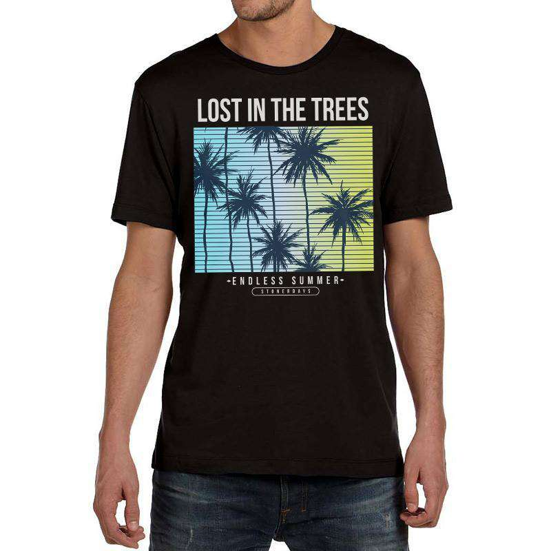 MEN'S LOST IN THE TREES TEE