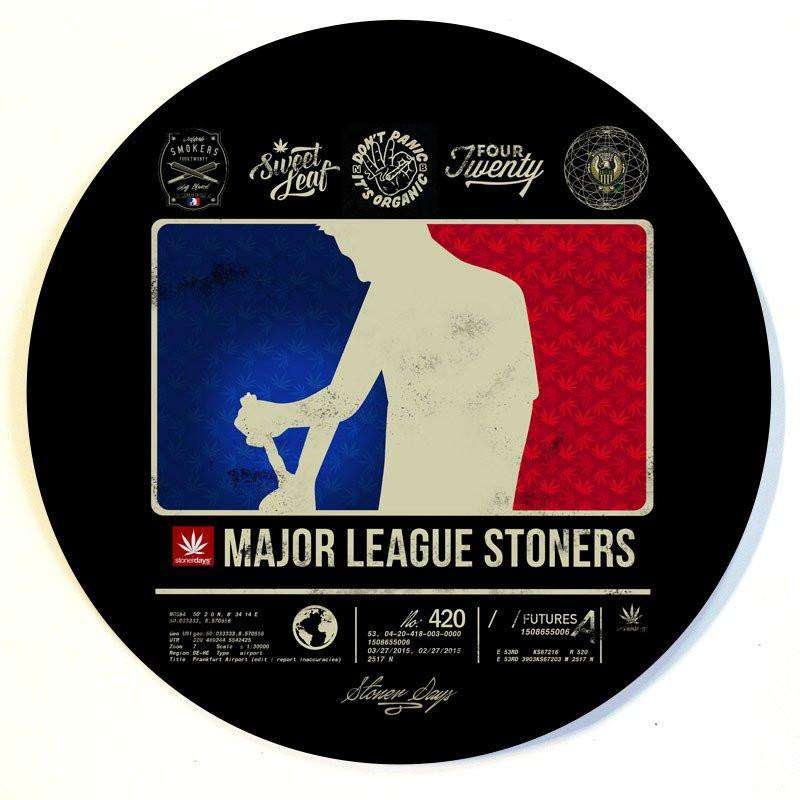 MAJOR LEAGUE STONER DAB MAT-StonerDays