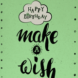 MAKE A WISH HEMP BIRTHDAY CARD-StonerDays