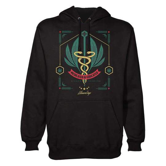 MEDICATED AND EDUCATED HOODIE