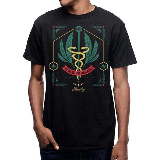 MEN'S MEDICATED AND EDUCATED TEE