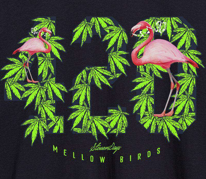 MENS MELLOW BIRDS TANK