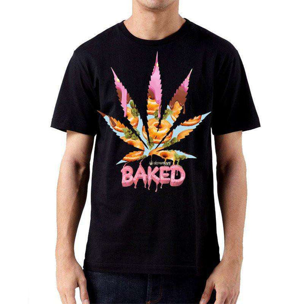 MEN'S BAKED TEE-StonerDays