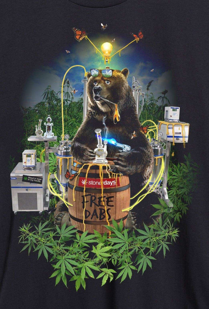 MEN'S BEAR FREE DABS TEE