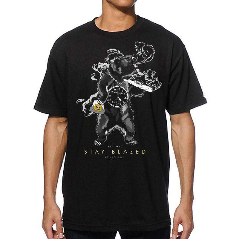 MEN'S BEAR STAY BLAZED TEE