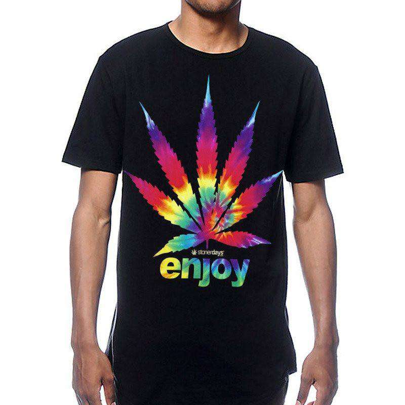 MEN'S ENJOY TIE DYE TEE