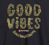 MEN'S GOOD VIBES NUGS TEE-StonerDays