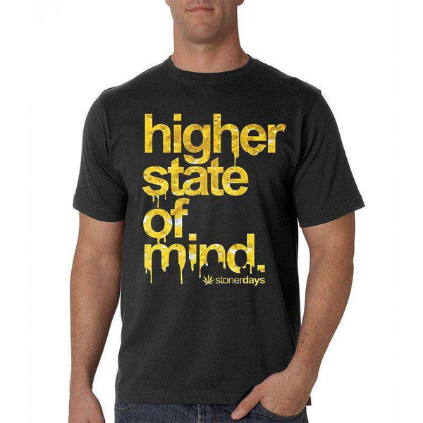 MEN'S HIGHER STATE OF MIND SHATTER TEE-StonerDays