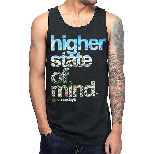 MENS HSOM MILE HIGH TANK-StonerDays